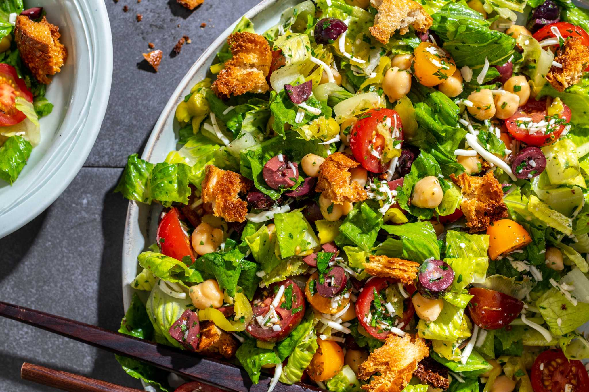 Chop your way to dinner with this flexible, Italian-inspired salad