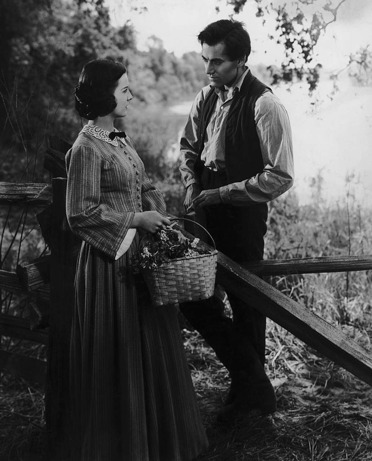 Henry Fonda plays Abraham Lincoln in the film
