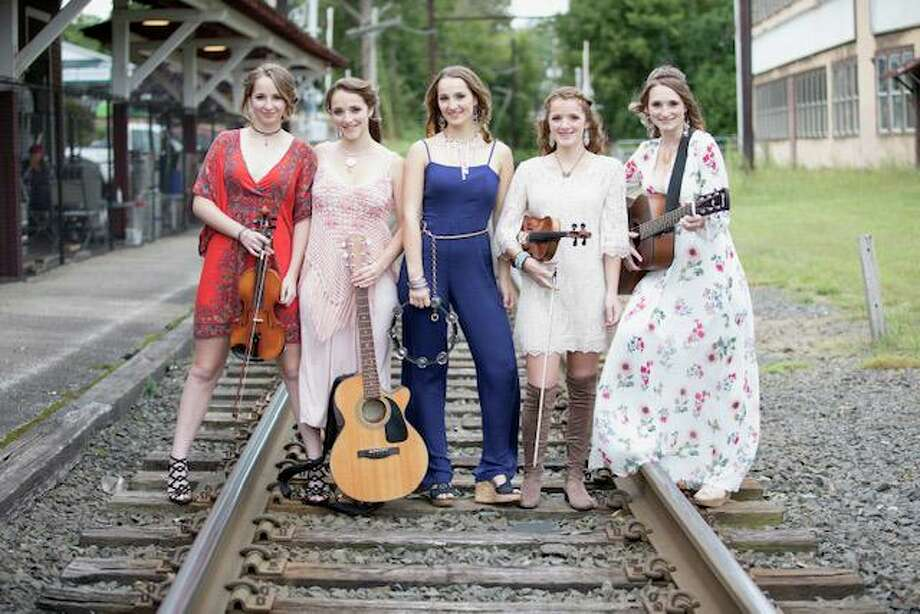 "The Connecticut-based KC Sisters, who were featured on season one of Nickelodeon's ""America's Most Musical Family,"" will perform in a virtual concert Oct. 2 at 7 p.m. Preregistration is required by visiting www.kentmemoriallibrary.org. Photo: Courtesy Of Kent Memorial Library / Danbury News Times Contributed"
