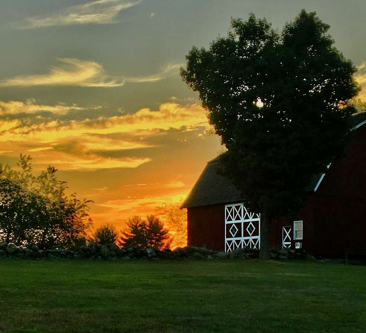 This photo by Ann Billik is one of several pieces of art that may be purchased in advance and picked up during the Cruise-thru Ambler Farm Day on Sunday, Oct. 4.