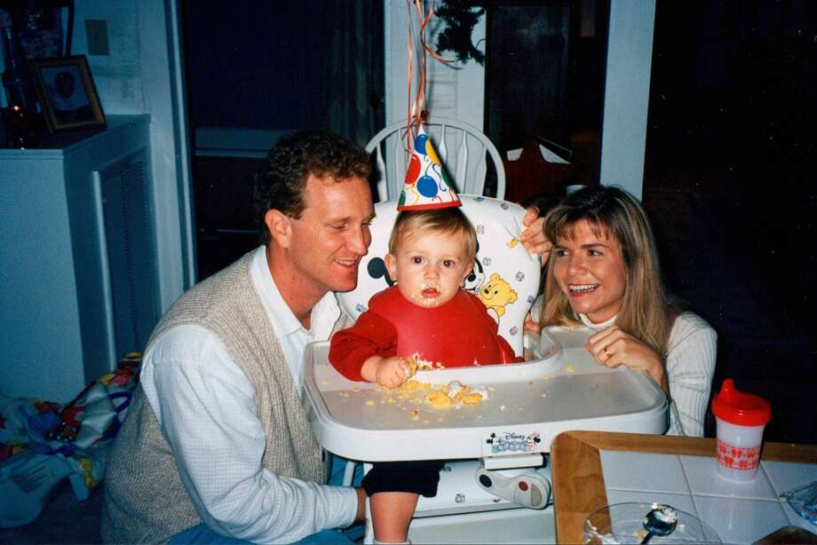 Arnold and Angie Andrews celebrate Will's first birthday in 1996. Photo: Courtesy Andrews Family / ONLINE_YES