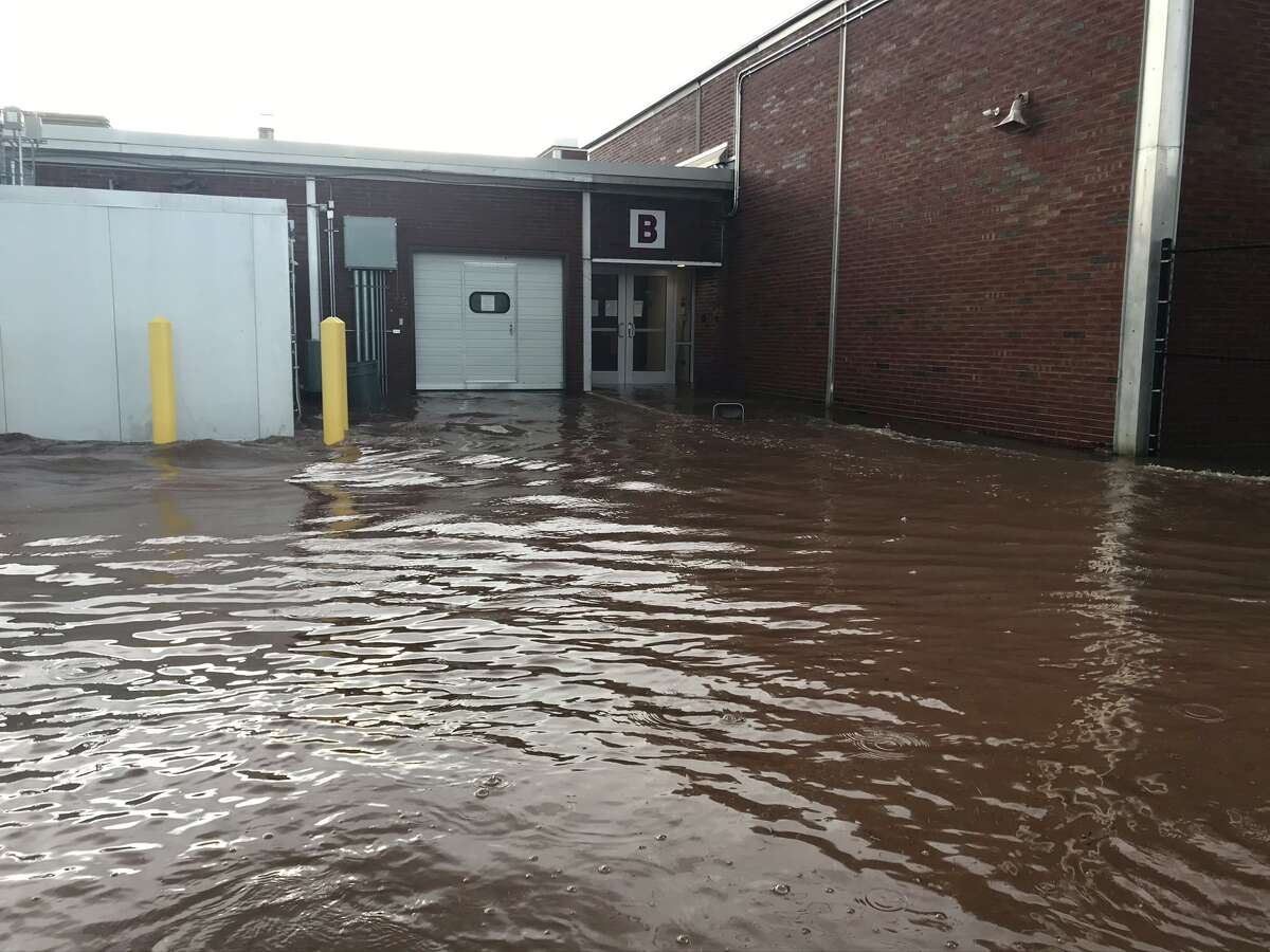 Whitehall's elementary school was flooded and its high school was damaged by an inch of water and sewage back up during an Aug. 24, 2020 storm that hit the village.