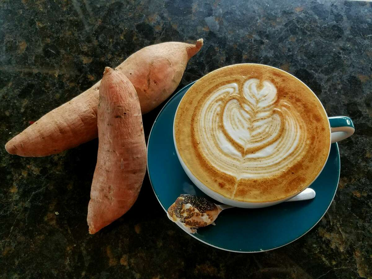 Southside Espresso is offering a sweet potato latte with toasted marshmallow to welcome autumn.