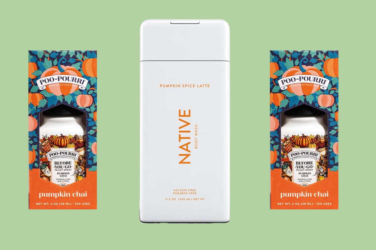 Poo-Pourri Before-You-go Toilet Spray, $9.99 on Amazon Pumpkin Spice Latte Body Wash, $8 at Native