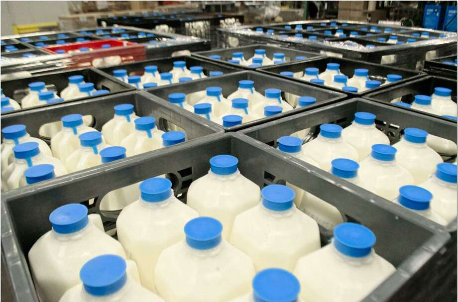 The Danbury Salvation Army food pantry expects to receive a cooler this week that can old 64 gallons of milk. Photo: / Contributed Photo /Salvation Army
