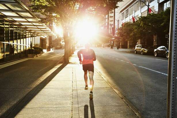 Runner in San Francisco