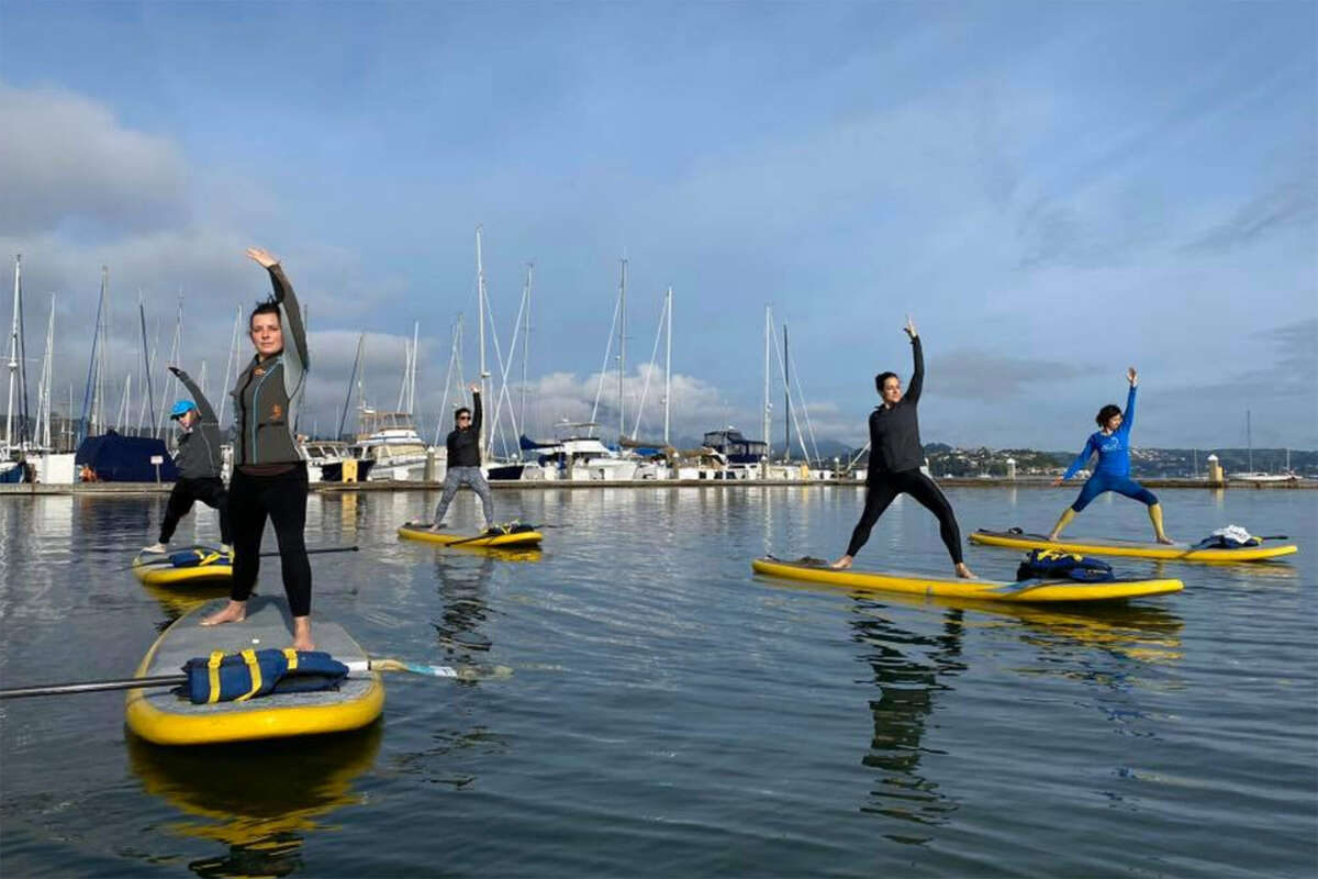 An OnBoardSUP class in session.