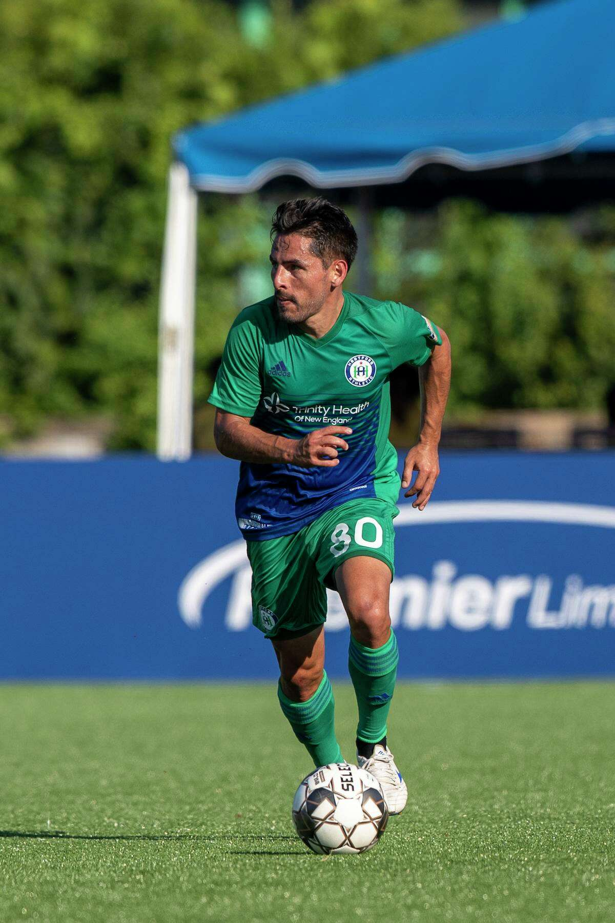 Danny Barrera and Hartford Athletic will playing their final home game of the regular season.