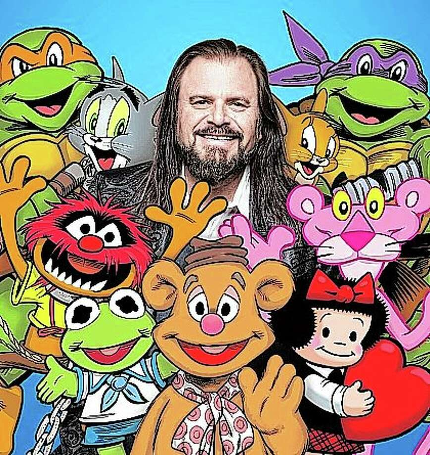 """In addition to the Muppets, Looney Tunes, and Tom and Jerry, cartoon characters on which artist Guy Gilchrist has worked include """"Teenage Mutant Ninja Turtles,"""" the Tiny Toons, """"The Pink Panther,"""" """"Minnie Mouse"""" and """"Nancy,"""" the comic strip created in 1938 by Ernie Bushmiller. Photo: Provided"""