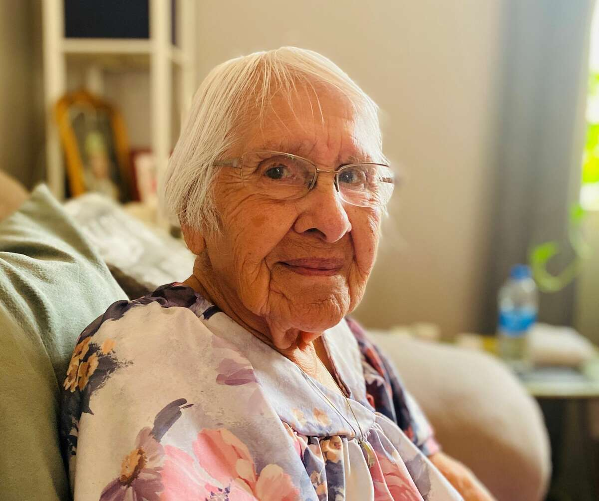 Helen Coats, 93, has fond memories of growing up in Yosemite National Park with other members of the Miwuk and Paiute tribes.