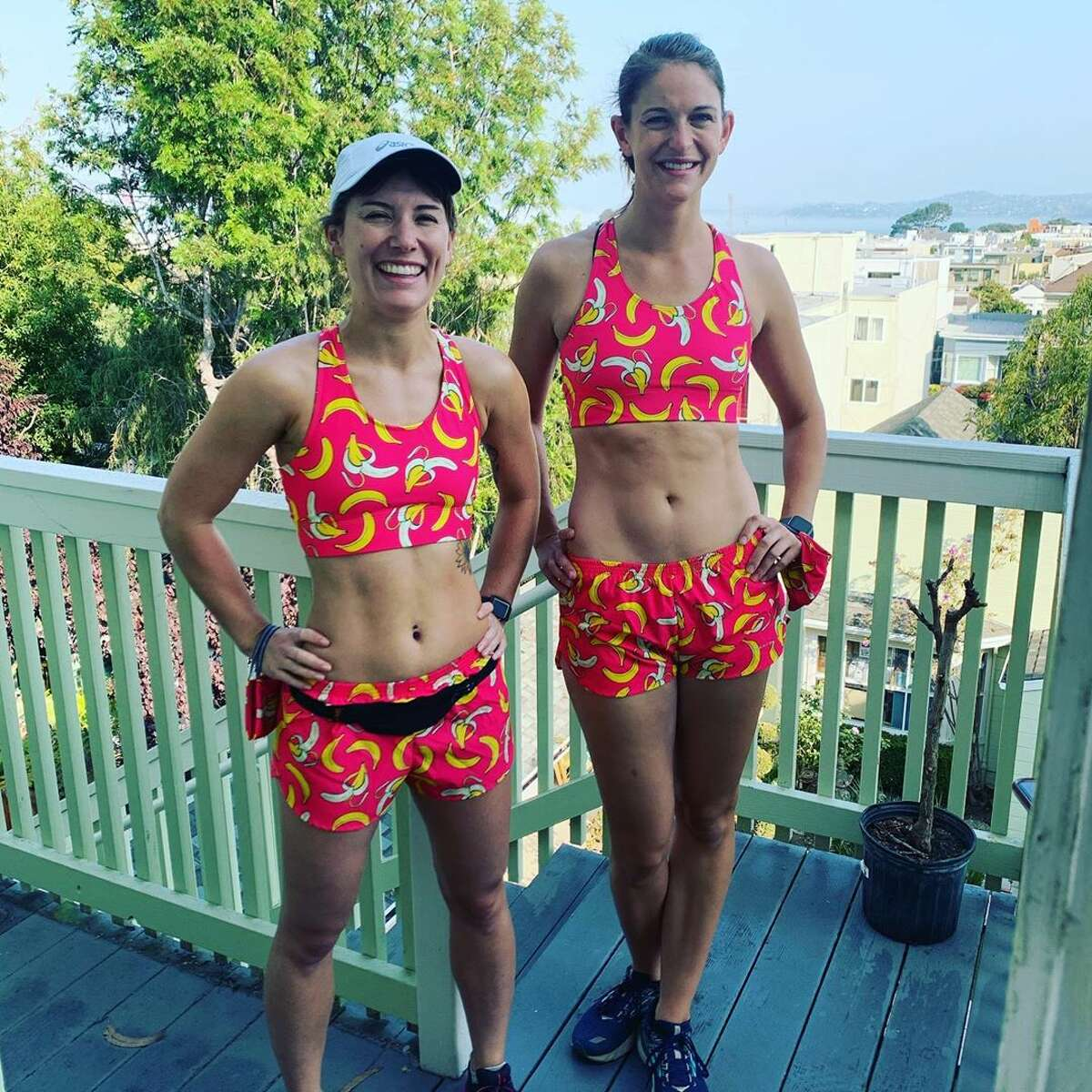 Megan Sweeney, who ran this year's Bay to Breakers with one of her best friends, said