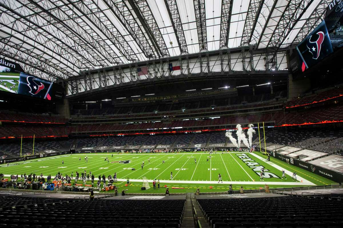 Fans weren't allowed to attend the Texans-Ravens opener but weren't flocking to watch the game, either, as ratings dipped.