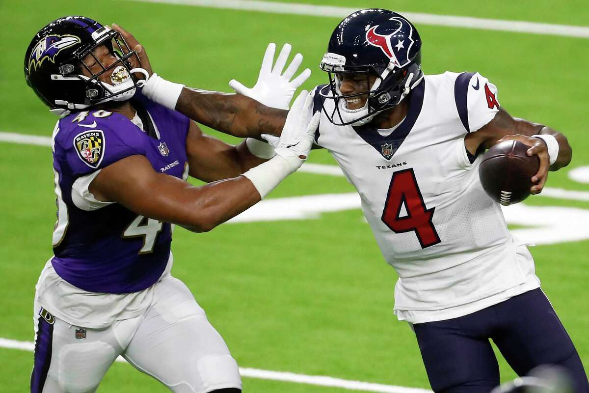 Deshaun Watson and the Texans offense have been stymied to start both games this season.