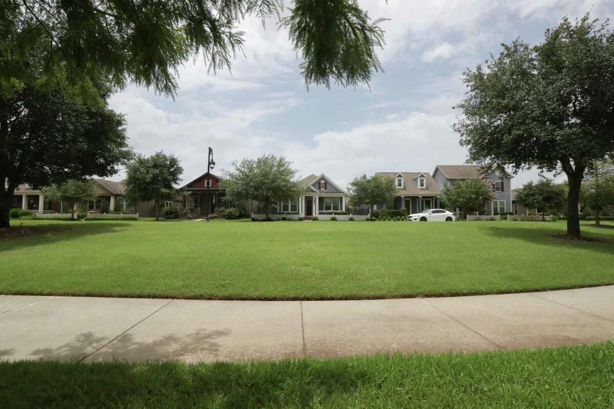 Bridgeland is the Houston region's top selling community as home starts rose 61 percent in 2019 and are strong again this year Monday, July 6, 2020, in Cypress.