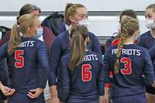 The Unionville-Sebewaing Area volleyball team traveled to rival Laker on Tuesday night, where the Patriots swept Laker, 25-12, 25-15, 25-10.