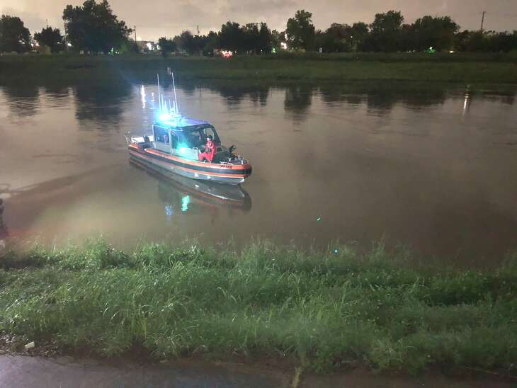 Houston police and the U.S. Coast Guard are searching for a fisherman who went missing Tuesday evening in Brays Bayou.