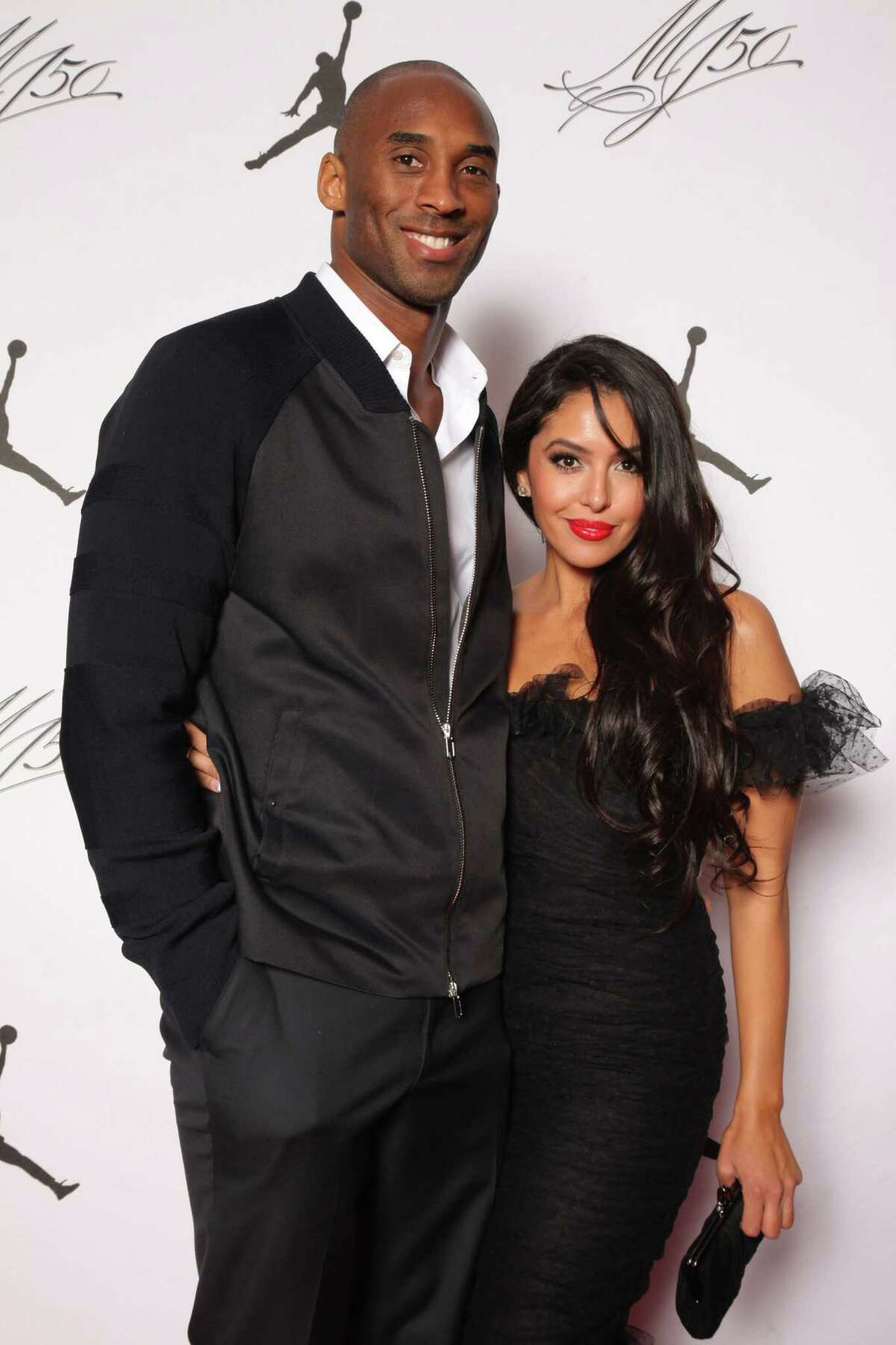 IMAGE DISTRIBUTED FOR JORDAN BRAND - Kobe and Vanessa Bryant are seen at the Jordan Brand party celebrating Michael JordanAƒa€šA'a€™s birthday on Friday, February 15, 2013 in Houston, TX. The Jordan Brand launched its Air Jordan XX8 in Houston on the same day. (Photo by Omar Vega/Invision for Jordan Brand/AP Images)
