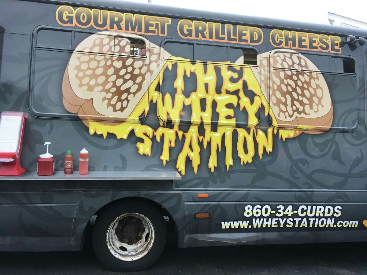 The Whey Station food truck in Middletown