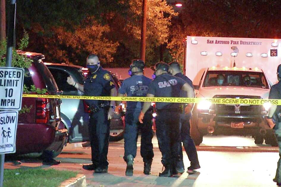 San Antonio police shot and killed a man while responding to a burglary call on the West Side Tuesday night.