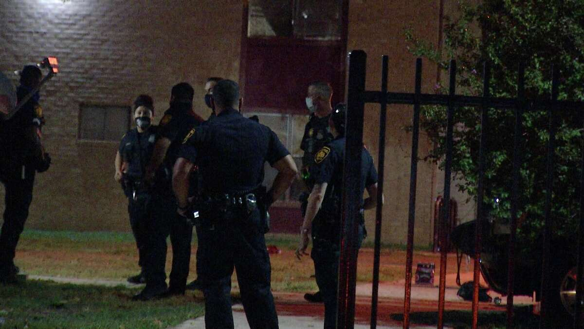 San Antonio police shot and killed a man while responding to a burglary call on the West Side Tuesday Sept. 22, 2020.