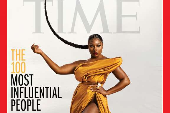 Megan Thee Stallion on the TIME100 cover.