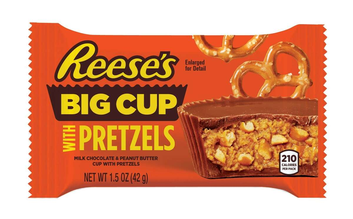 Reese's announces a new brand of Butter Cups with Pretzels, and it describes 2020 perfectly, salty!