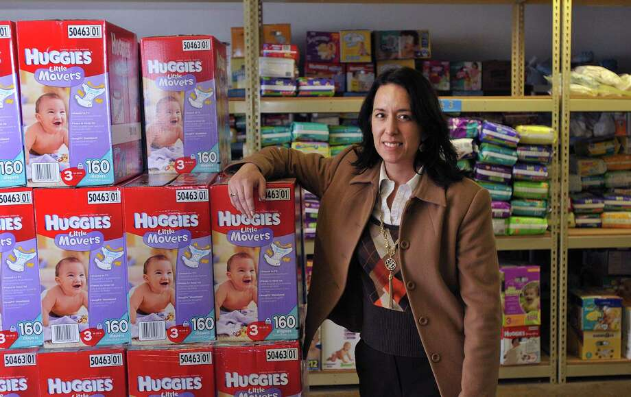 Janet Stolfi Alfano, director of the Diaper Bank in North Haven. Photo: File Photo