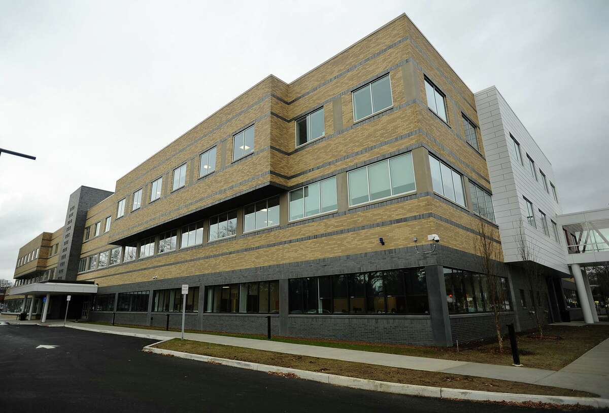 The new Stratford High School opens to students in Stratford, Conn. on Monday, November 26, 2018.