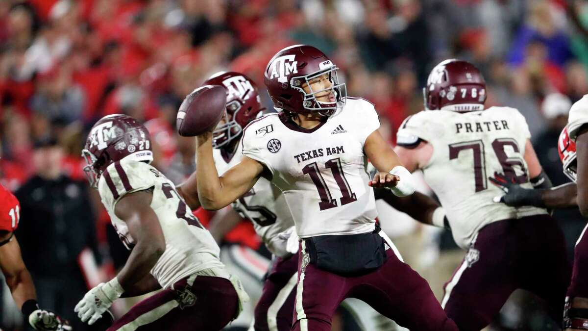 """Kellen Mond last year proclaimed he was the best quarterback in the SEC - a boast he failed to live up to. Said Mond: """"This year I'm on a mission, not only for myself but for my teammates,"""" Mond said. """"I want to be a great leader and elevate everybody."""""""