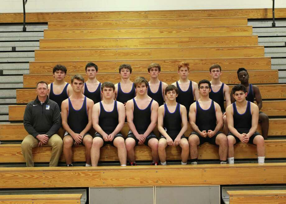 Darien High School wrestling team grateful for support. Photo: Contributed