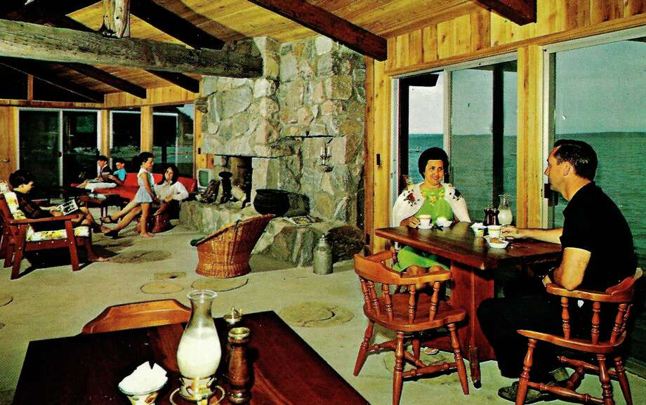 The old Beach Dining Room at Chimney Corners around 1960, now Rock's Landing. (Courtesy photo)
