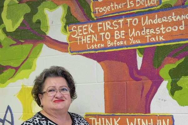 Nilda Nava, Bonham Elementary third grade reading and language arts teacher. 09/23/2020 Tim Fischer/Reporter-Telegram