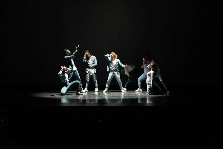 """Members of the Hartford hip-hop dance group 860 MVMNTperform an excerpt from """"Human Be-In."""" Photo: Ray D. Shaw/Contributed Photo / Raymond Shaw"""