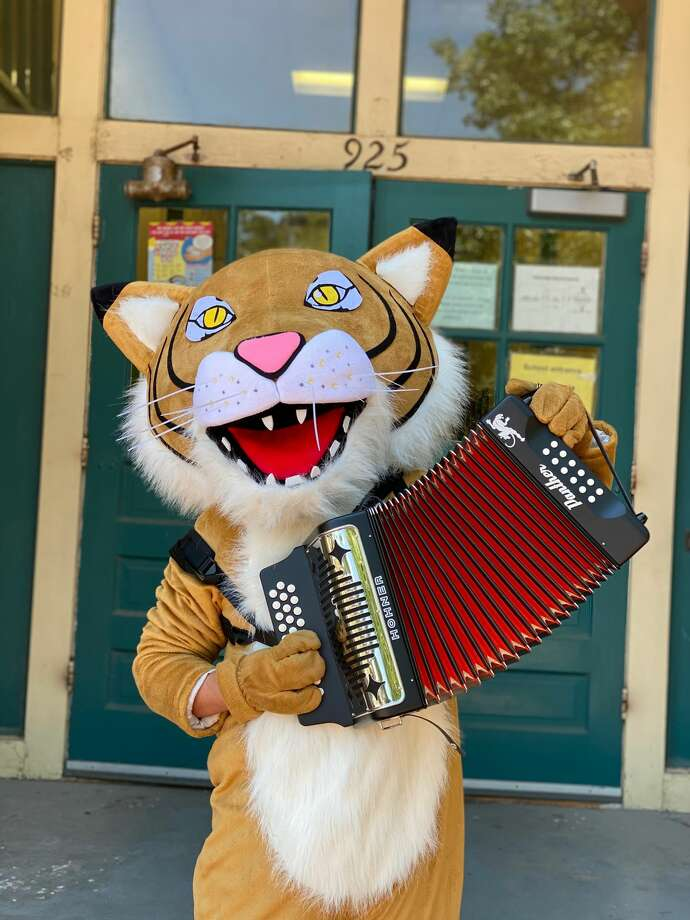 Accordionists to carry on conjunto music's future may get their start at Bonham Academy this fall. Photo: Courtesy, Bonham Academy