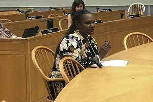Livable Cities Initiative Director Serena Neal-Sanjurjo speaks at a June 20, 2019 Joint Community Development and Legislation Committee meeting.