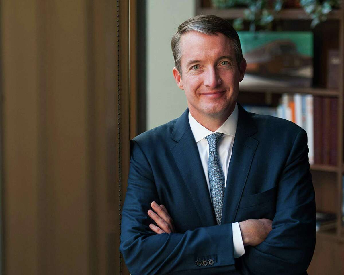 University of Texas at Austin named Jay Hartzell, former dean of UT's McCombs School of Business, its new president on Wednesday, Sept. 23, 2020.