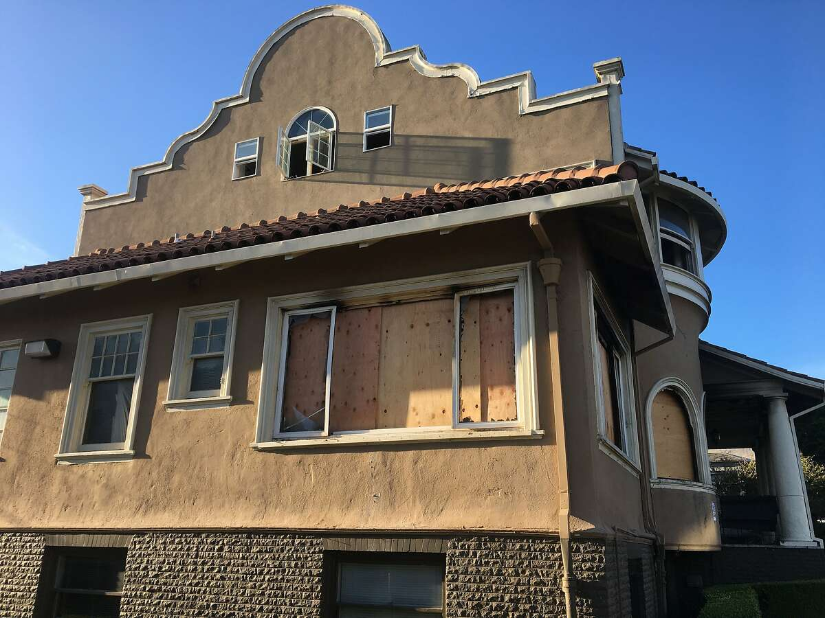 St. Gregory Armenian Apostolic Church was boarded up after a fire engulfed two floors in the early morning hours on Sept. 17. The fire is being investigated by the police Arson Task Force as a hate crime.