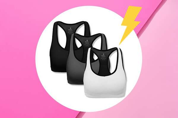 As far as we're concerned, a woman can never have too many sports bras. Whether you're looking to stay comfortable during long runs and HIIT classes or craving an alternative to uncomfortable underwire, a great sports bra is the gift that keeps on giving. That said, finding a great sports bra is easier said than done. Not only do you need to find one that's comfortable, but you also need to take your cup size and level of support needed into consideration. And, if you can find one that's affordable and stylish? Even better. Since we know you don't have all day to find the perfect sports bra, we scoured Amazon to find 10 great options shoppers are low-key obsessed with. (Bonus: If you have a Prime membership, you can add one to your cart and receive it a few days later.)