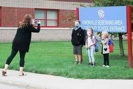 Unionville-Sebewaing Area students were back in class a week before other Huron County schools reopened their doors and according to Superintendent George Rierson the successful reopening is attributed to the hard work of school staff and cooperation from students. (Mark Birdsall/Huron Daily Tribune)