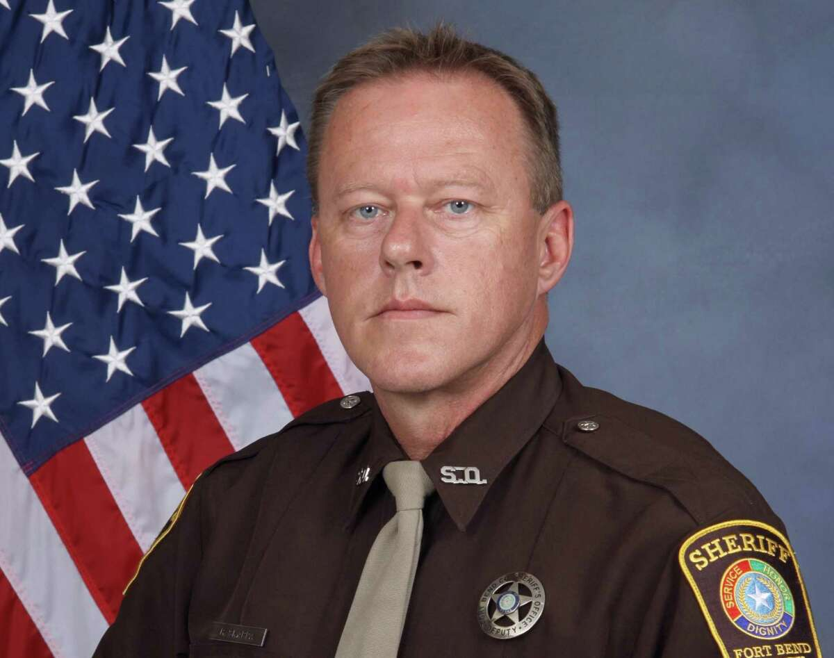 Fort Bend County Sheriff's Deputy Ron Skarpa was honored Sept. 23, 2020 for thwarting a potential suicide attempt.