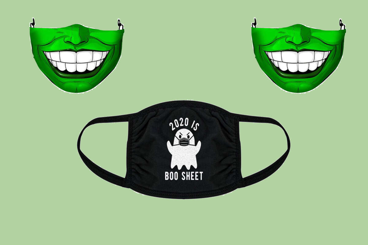 2020 Is Boo Sheet Face Mask, $11.99 at Walmart