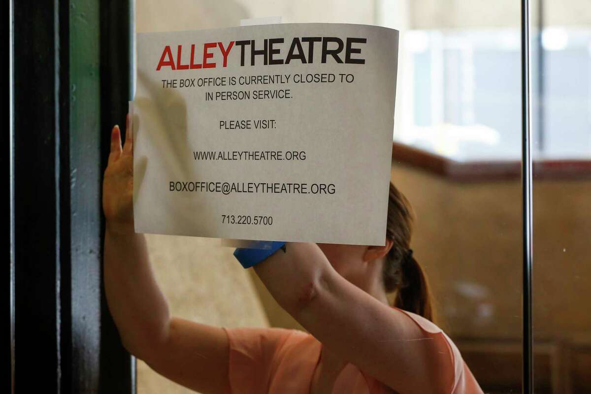 """The Alley Theatre has launched a donor campaign with the slogan, """"Lights up! This is just intermission."""""""