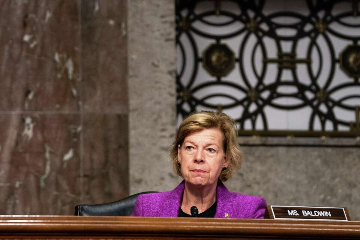 Sen. Tammy Baldwin, D-Wisconsin, and four other Democratic senators sent a letter Sept. 21, 2020 to the judge overseeing Purdue Pharma's bankruptcy to oppose a proposed seven-figure bonus for Purdue CEO Craig Landau.