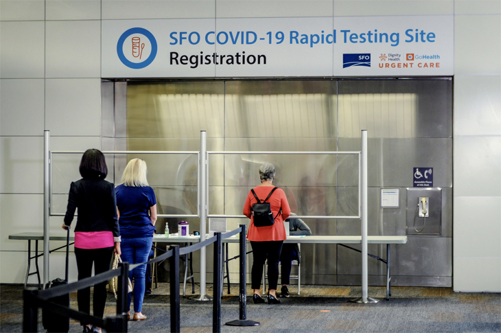 United offers COVID tests at SFO for Hawaii passengers, but they are not cheap