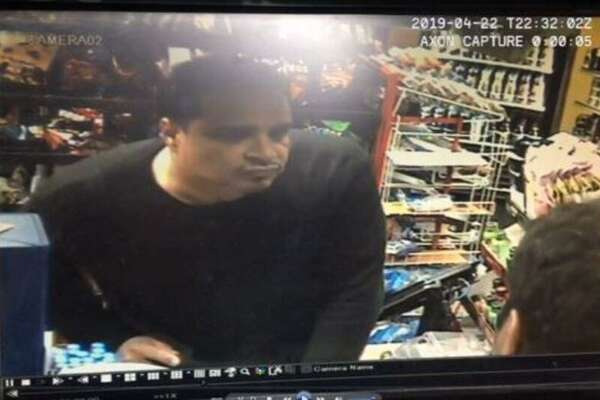 An image of the man who robbed the Willow Street convenience store April 22. New Haven police announced Thursday the department has received a warrant accusing Jose Antonio Cubiz the crime.