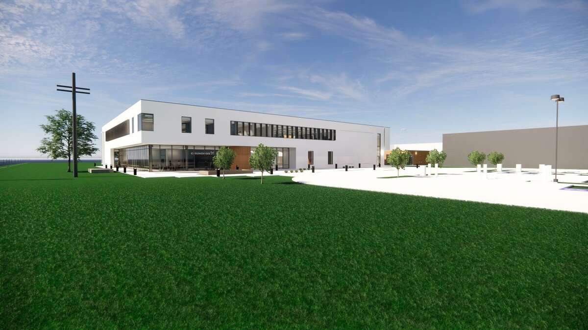 Grundfos, a Denmark-based provider of water pump technologies, plans to open the Americas Regional Center on its campus at 902 Koomey Road in Brookshire in spring of 2021.PGAL is the architect and Harvey Builders is the builder.