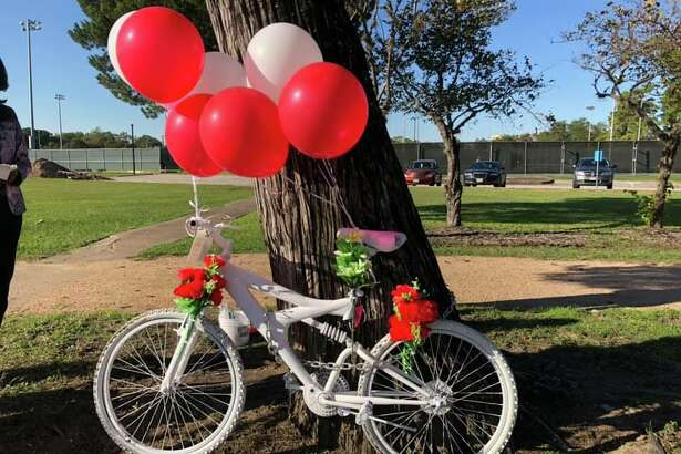The Ghost Bike memorializing Stoney R. Jackson was placed at the crash site months after a driver hit and killed him as he rode home from a doctor's appointment.
