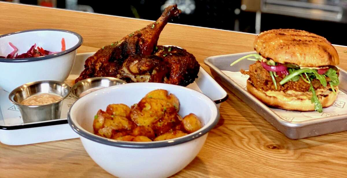 Camp Outpost Co. will serve a menu of wood-fired fare at 1811 S. Alamo St.
