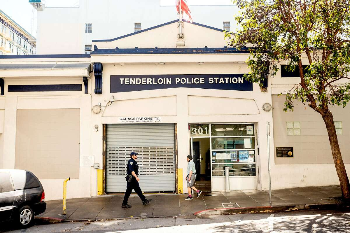The Tenderloin Police Station, in a high-need, high-crime part of San Francisco.