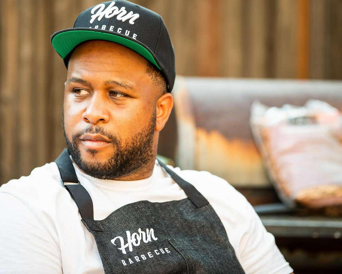 Matt Horn, the owner of Horn Barbecue.